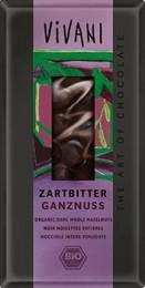 VIVANI Hořká čokoláda s oříšky BIO