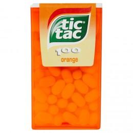 Tic Tac 100 s pomerančovou příchutí