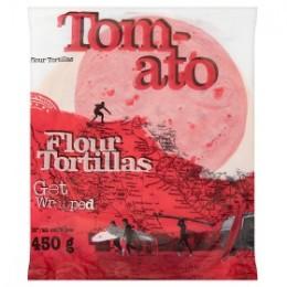 """Tortilla Tomato 10"""""""