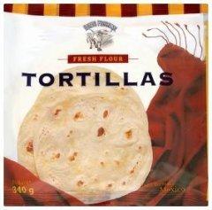 Nuevo Progreso Mexické pšeničné tortilly 16cm
