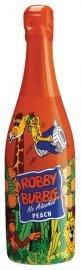 Robby Bubble dětský šumivý nápoj broskev