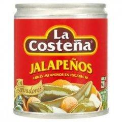 La Costeňa Jalapeňos papričky nakládané celé