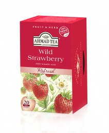Ahmad Tea Wild strawberries čaj (20x2g)