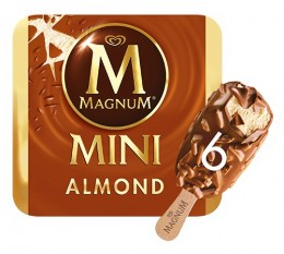 Magnum Mini Almond 6x55 ml