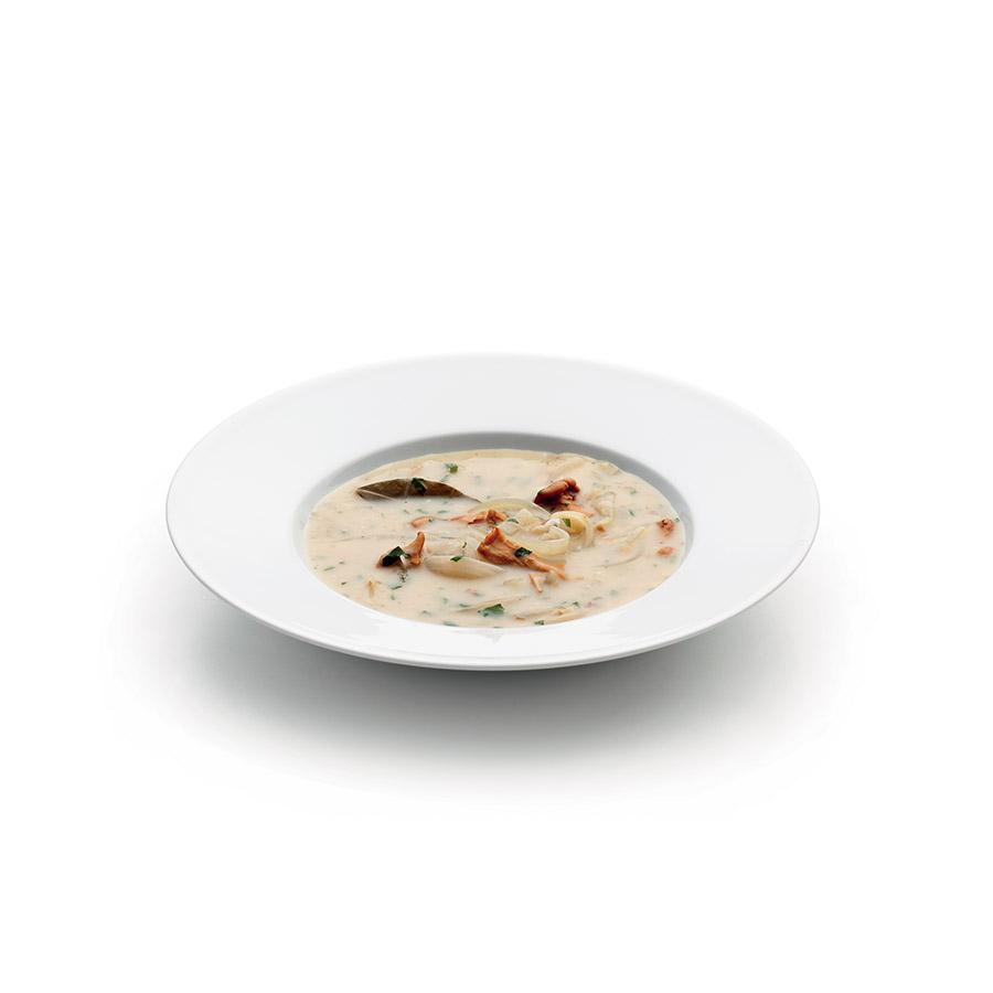 Cibulová polévka s liškami