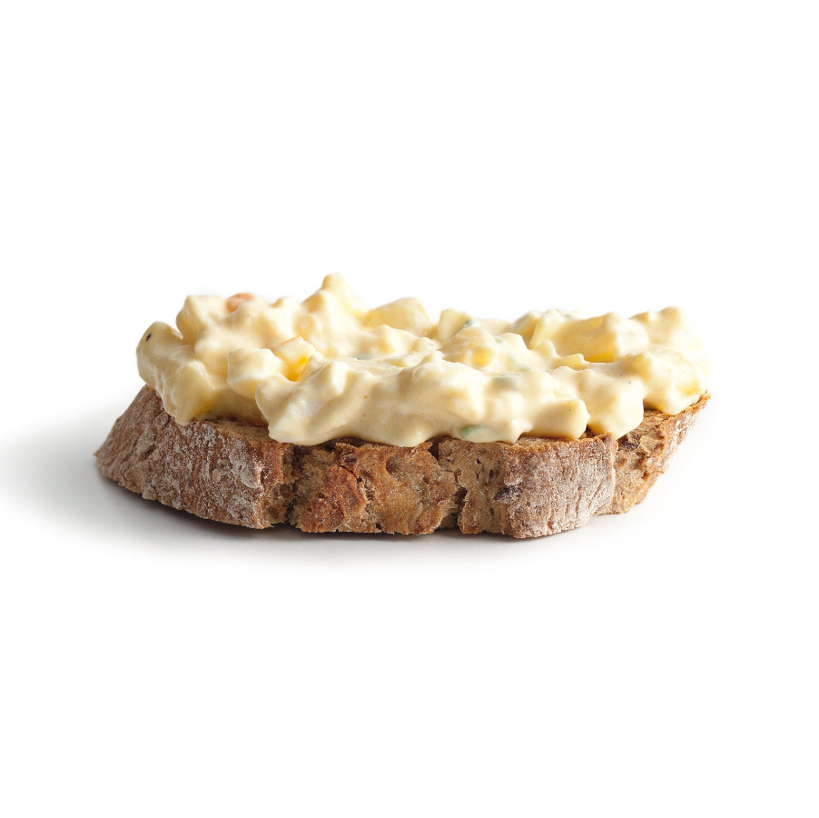 Vajíčkový salát s bramborami