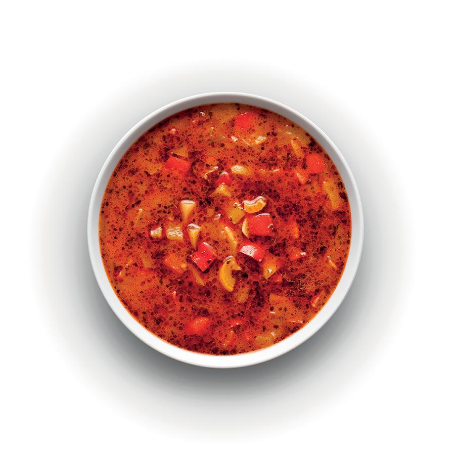 Polévka z paprik