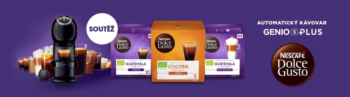 Kupte 3 balení kapslí NESCAFÉ Dolce Gusto a vyhrajte kávovar