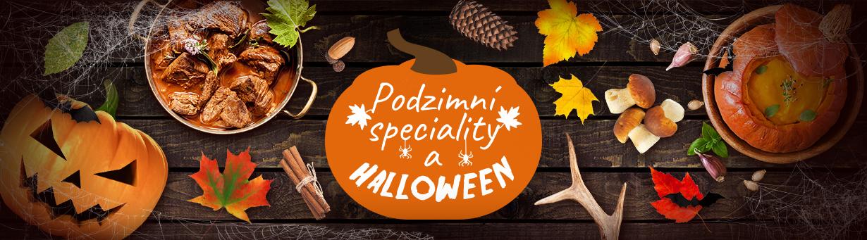 Podzimní speciality a Halloween