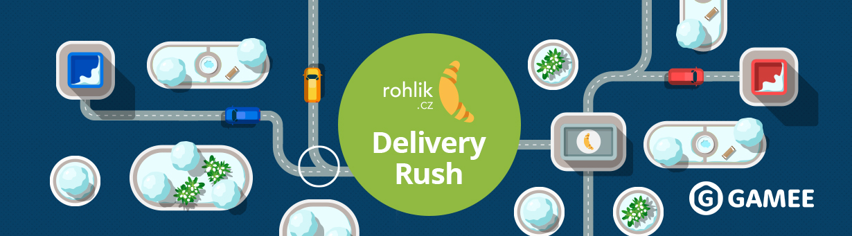 Delivery Rush - zvládli byste to taky?