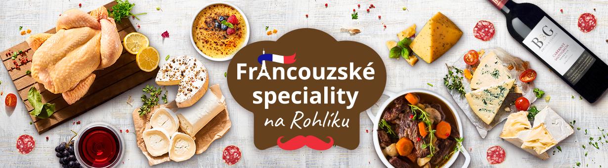 Francouzské speciality na Rohlíku