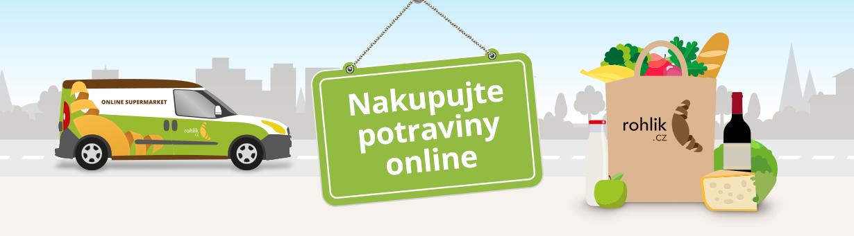 Vyzkoušejte online nakupování potravin