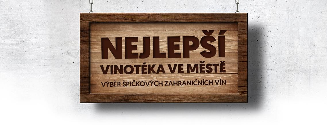 Nejlepší vinotéka ve městě