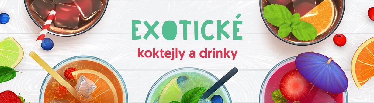 Koktejly a exotika