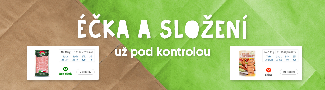 Éčka na Rohlik.cz