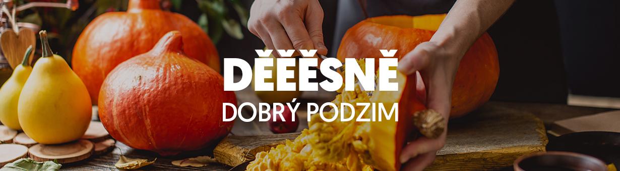 Podzimní speciality, dýně, dušičky a Halloween