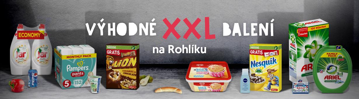 XXL nákupy na Rohlik.cz