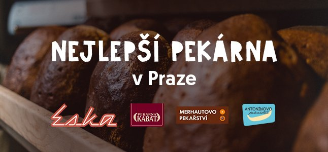 Nejlepší pekárny v Praze na Rohlik.cz