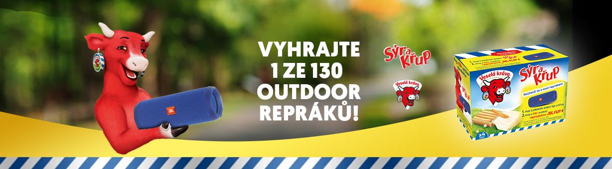 Vyhrajte 1 ze 130 outdoor repráků