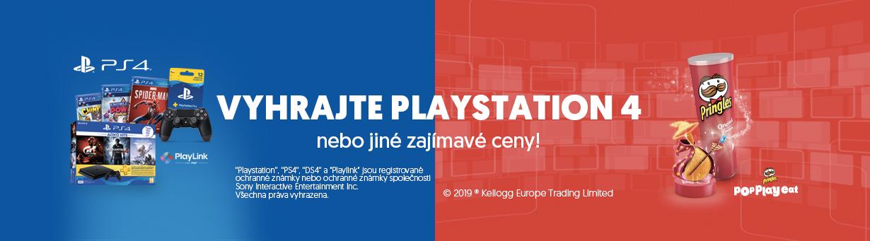 Vyhrajte Playstation 4 nebo jiné zajímavé ceny!