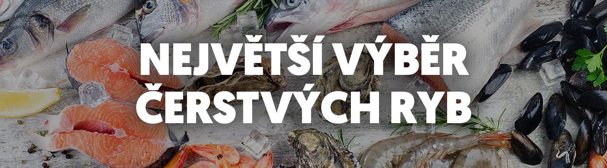 Největší výběr čerstvých ryb