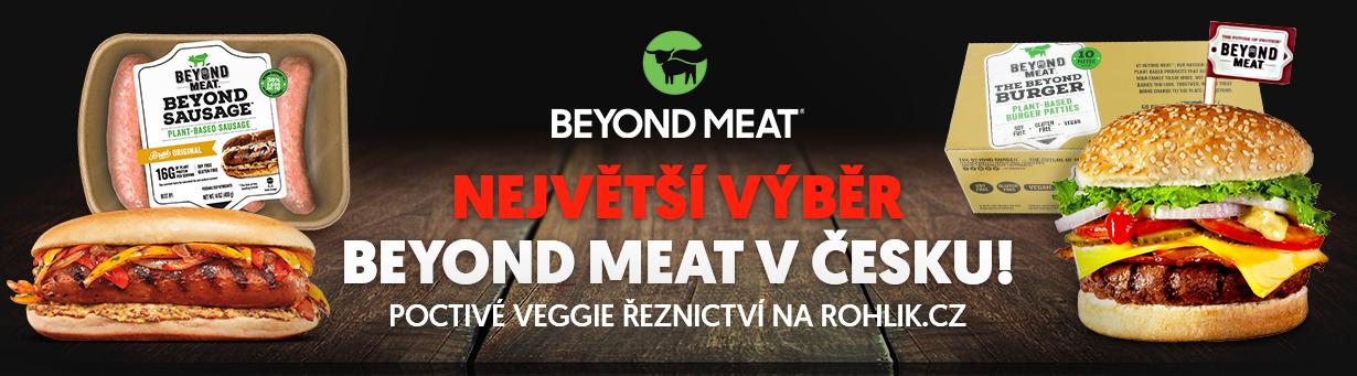 Legendární Beyond Meat na Rohlik.cz