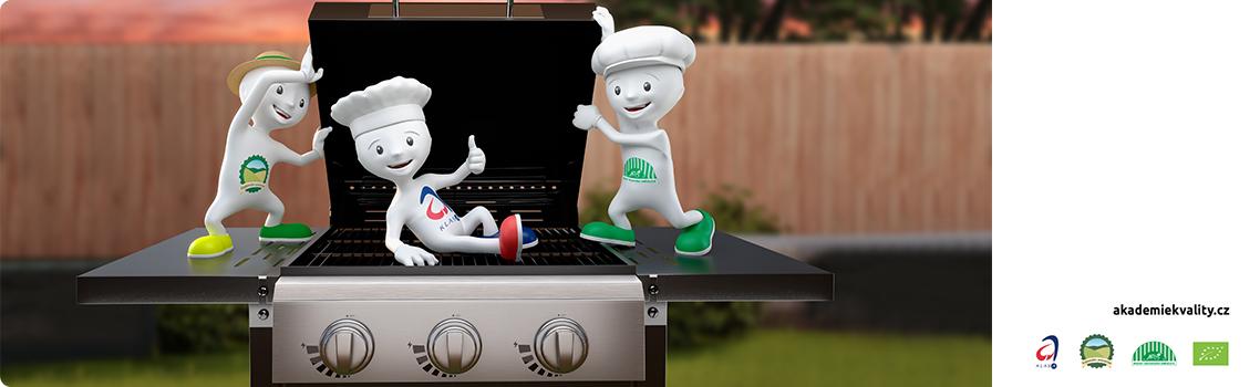 Vyhrajte léto na grilu - nakupujte kvalitu s chutí