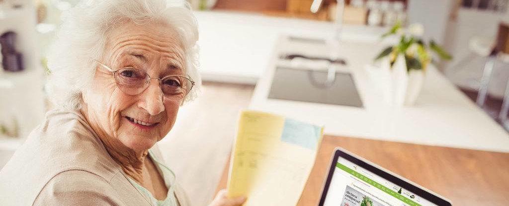 Balíčky pro seniory