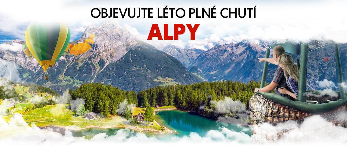 Objevujte Alpy