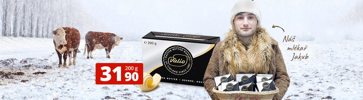 Nejlevnější kvalitní máslo na trhu