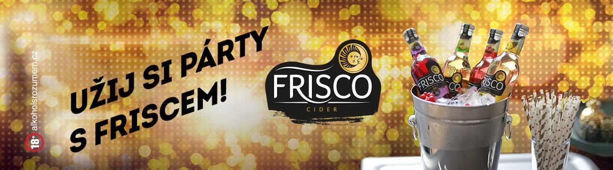 Užij si párty s Friscem!