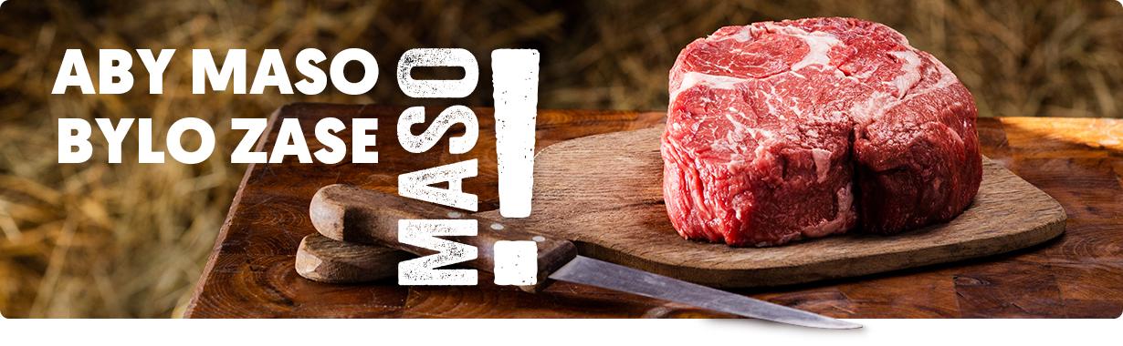 MASO! ty nejlepší kusy z vybraných plemen čestr a Duroc