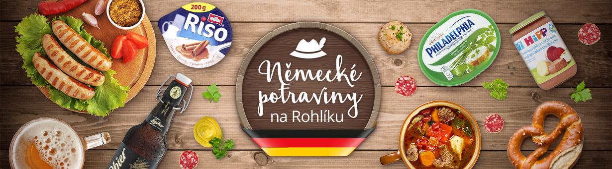 Německé potraviny na Rohlíku