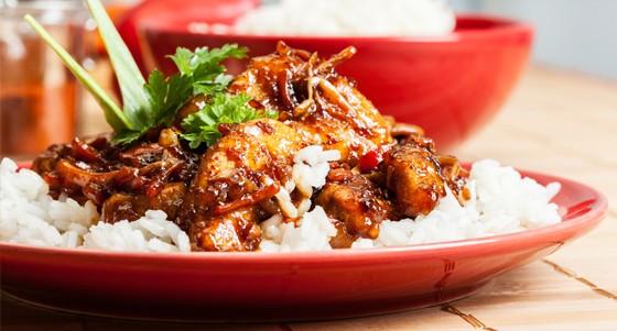 Jehněčí stir fry po asijsku