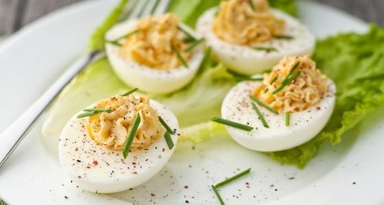Plněná vajíčka