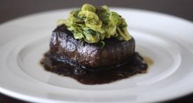 Hovězí steak s cuketovým Julienne
