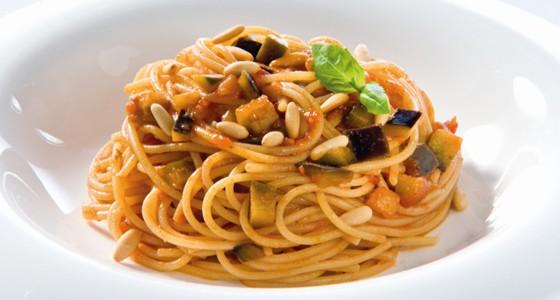 Spaghetti s omáčkou Basilico