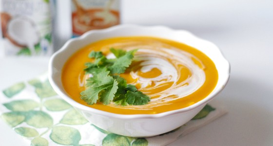 Batátovo-mrkvová polévka