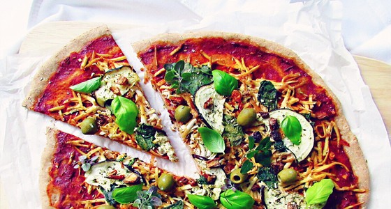 Špaldová pizza