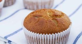 Muffiny z hrachové mouky