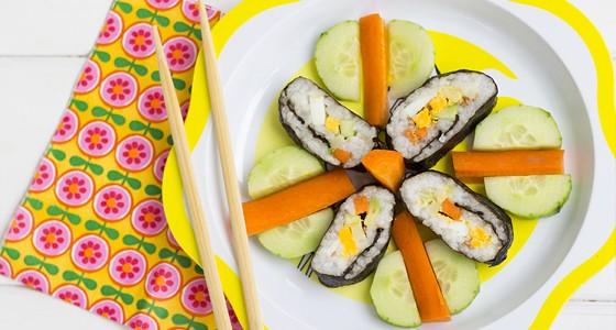 Dětské sushi