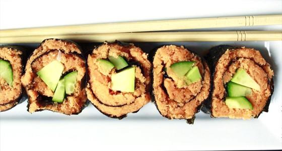 Mrkvové sushi