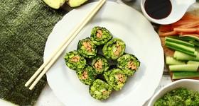Sushi s brokolicovou rýží