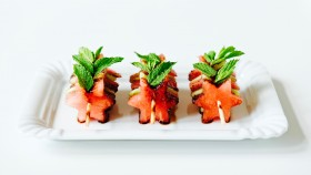 Melounové kanapky