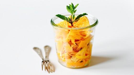 Marocký mrkvový salát