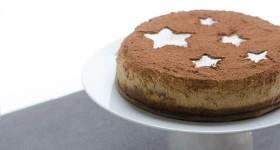 Vánoční tiramisu cheesecake