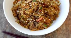 Špagetová dýně na asijský způsob