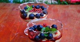 Jáhlový dezert s mascarpone (od 1 roku)