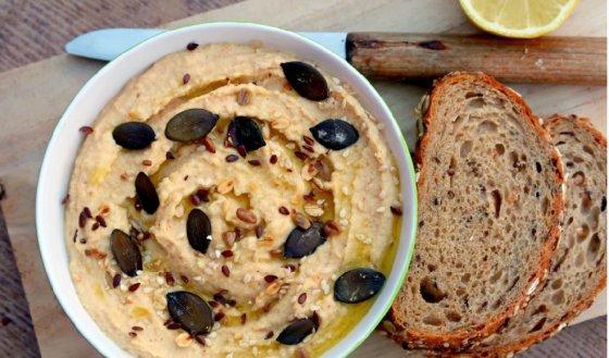 Hummus z červené čočky (od 2 – 3 let)