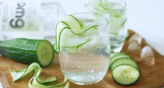 Gin tonic s okurkou